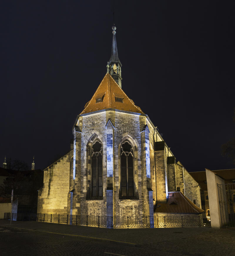 Monastério de St Agnes Czech imagem de stock