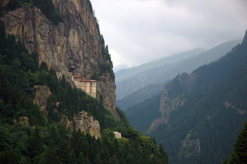 Monastério de Sumela fotos de stock royalty free