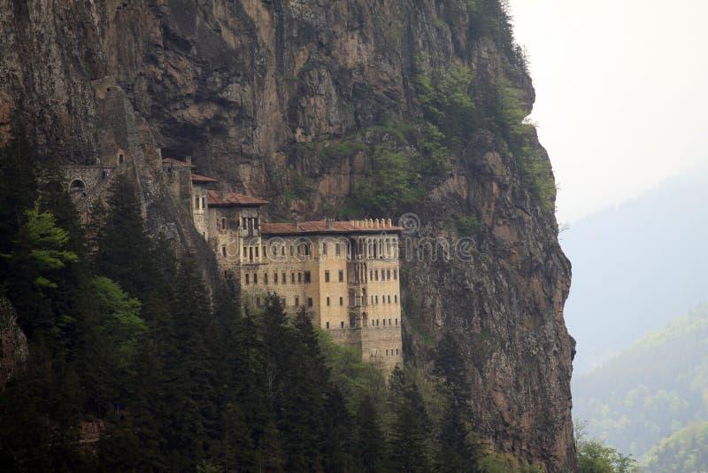 Monastério de Sumela imagens de stock
