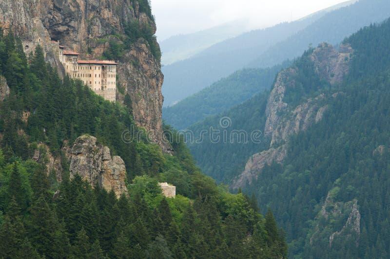 Monastério de Sumela imagens de stock royalty free
