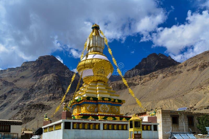 Monastério de Tabo em Himachal Pradesh, Índia fotografia de stock