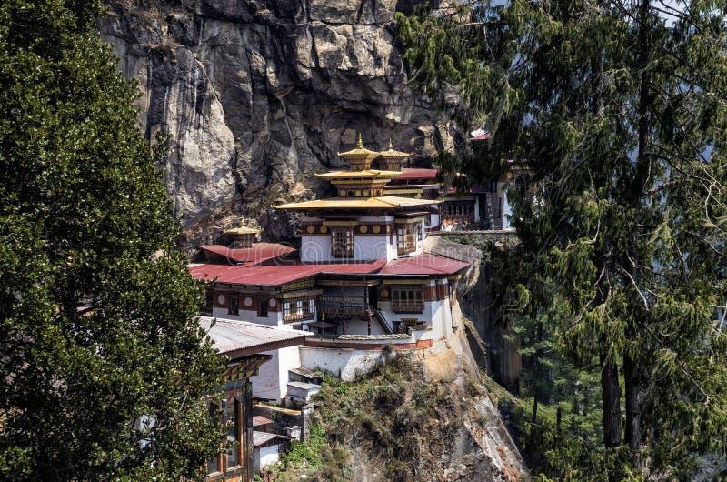Monastério de Taktshang, Butão imagens de stock royalty free