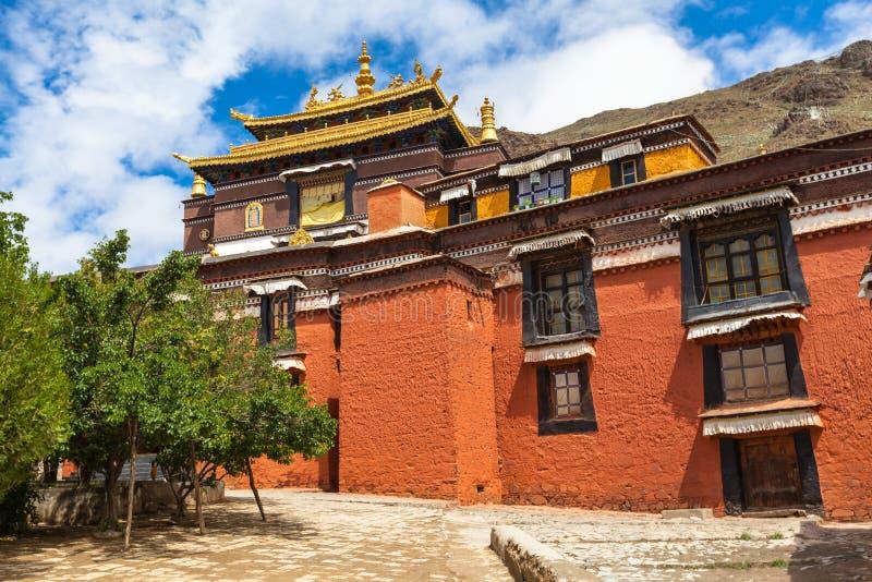 Monastério de Tashilhunpo em Shigatse foto de stock