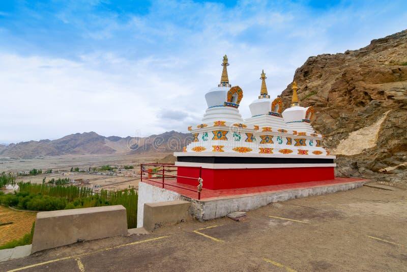 Monastério de Thiksay, Ladakh - Índia foto de stock royalty free