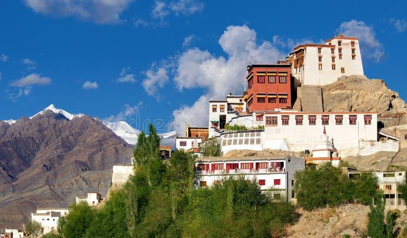 Monastério de Thiksay, Ladakh, Jammu e Caxemira, Índia imagem de stock royalty free
