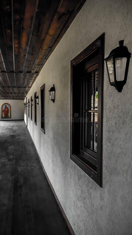 Monastério de Troyan imagens de stock royalty free