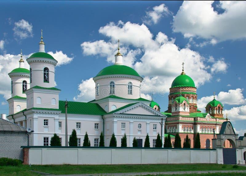Monastério de Troyekurovskiy do St Demetrius Hilarion imagens de stock