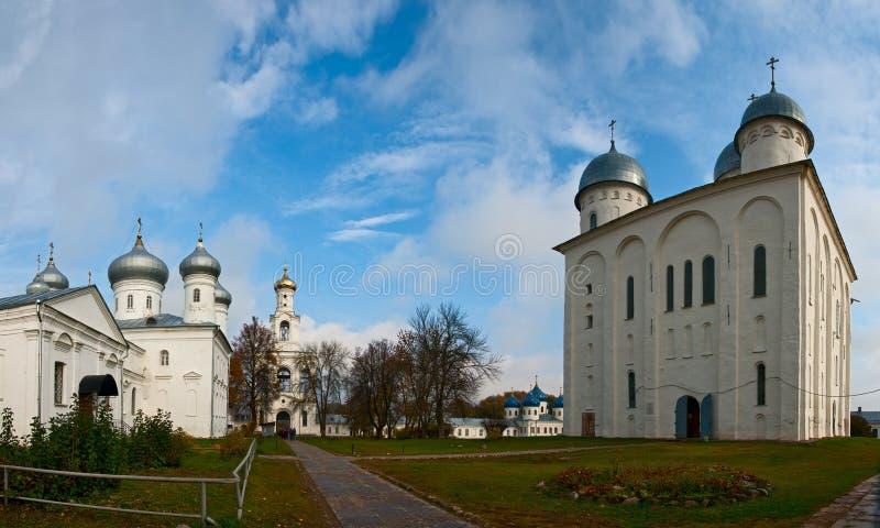 Monastério de Yuriev imagens de stock royalty free