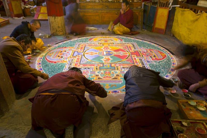 Monastério do baiqoi de Gyangze em Tibet Shigatse foto de stock royalty free