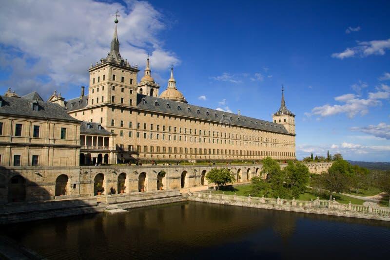 Monastério do EL Escorial, Madrid, Spain foto de stock