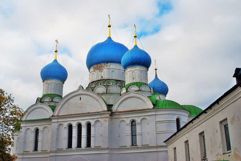 Monastério do esmagamento em Uglich, Rússia imagens de stock royalty free
