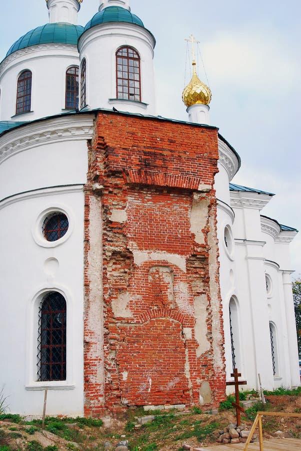 Monastério do esmagamento em Uglich, Rússia imagem de stock royalty free