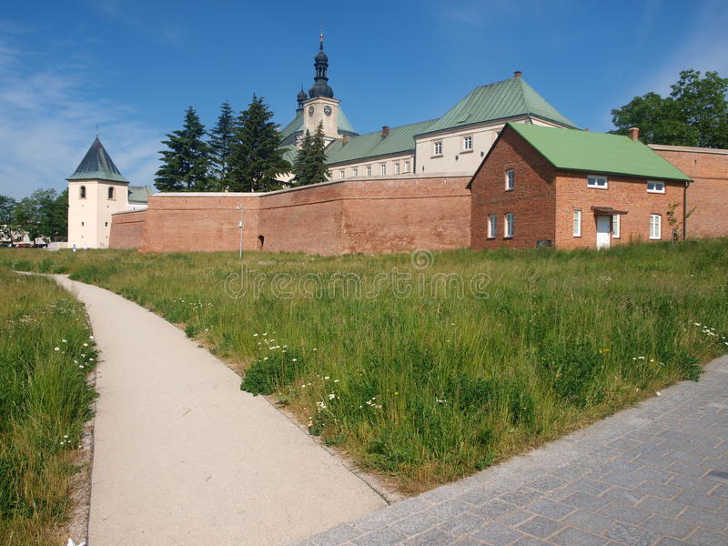 Monastério do licor beneditino, Lezajsk, Polônia foto de stock royalty free