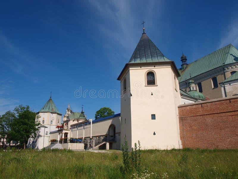 Monastério do licor beneditino, Lezajsk, Polônia fotografia de stock
