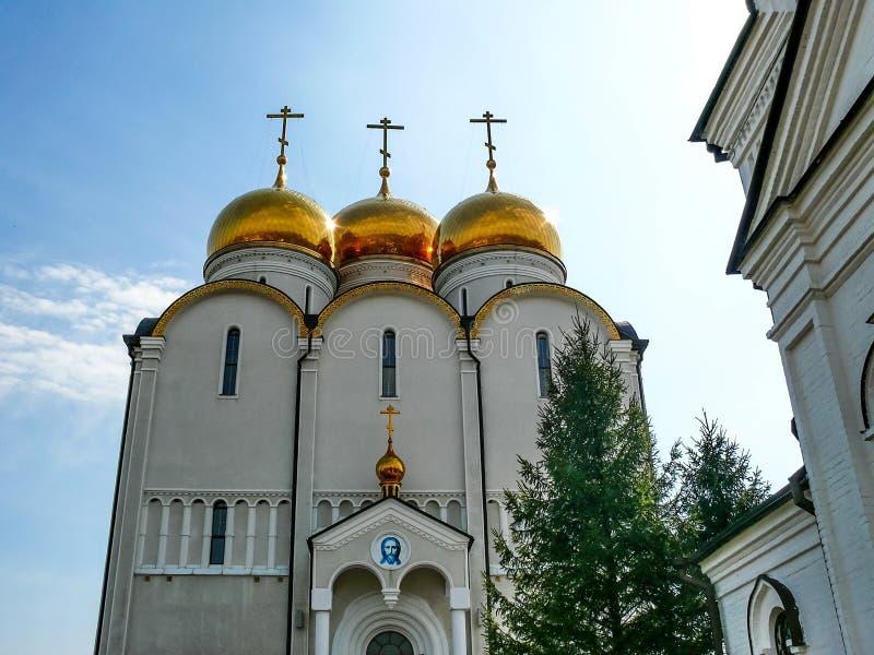 Monastério do monastério santamente de Dormition, a aparência do fotografia de stock royalty free