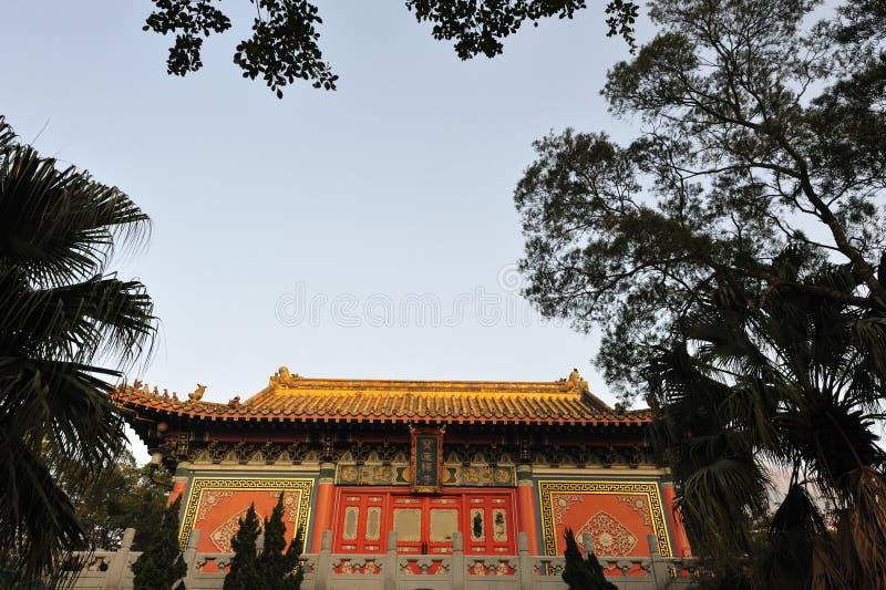 Monastério do Po Lin imagem de stock royalty free