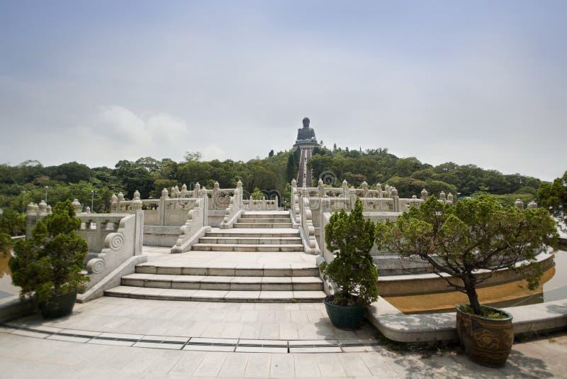 Monastério do Po Lin imagens de stock