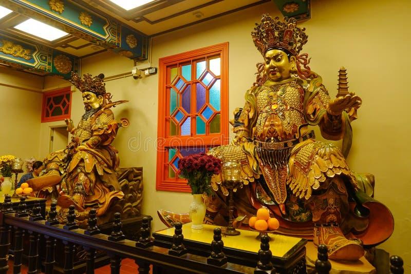 Monastério do Po lin em Hong Kong imagens de stock royalty free