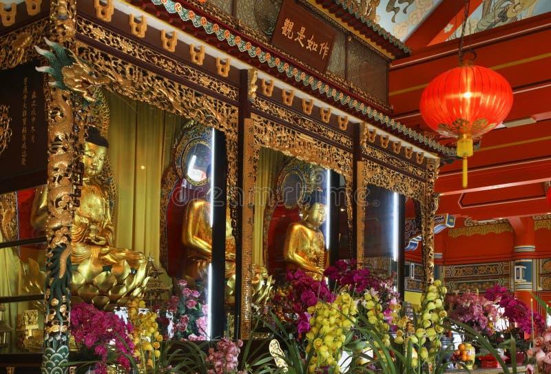Monastério do Po Lin Ilha de Lantau Hon Kong China imagem de stock royalty free