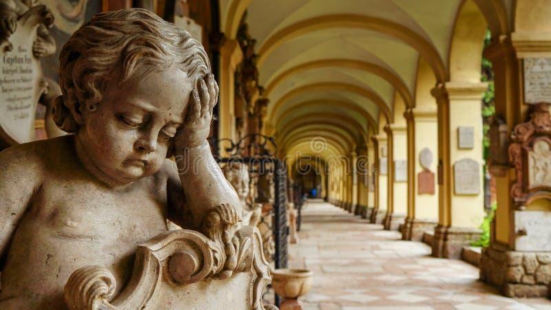 Monastério do ` s de St Peter em Salzburg imagem de stock