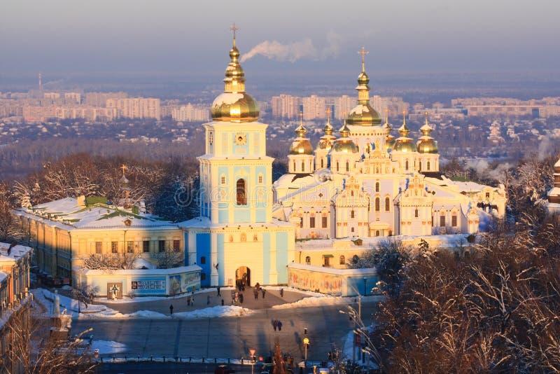 Monastério do St. Michael em Kiev imagens de stock