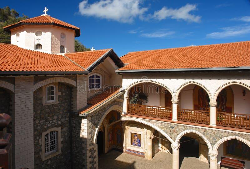monastério dos kykkos fotografia de stock