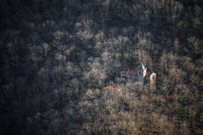 Monastério dos sacros de Ribeira fotografia de stock
