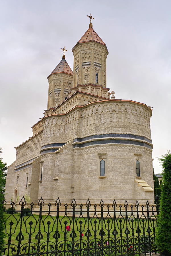 Monastério dos três Hierarchs fotografia de stock royalty free