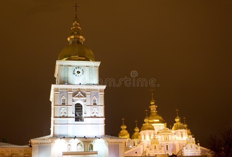 Monastério Dourado-Abobadado do St. Michael fotografia de stock royalty free