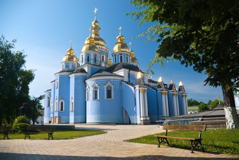 Monastério Dourado-Abobadado do St. Michael foto de stock
