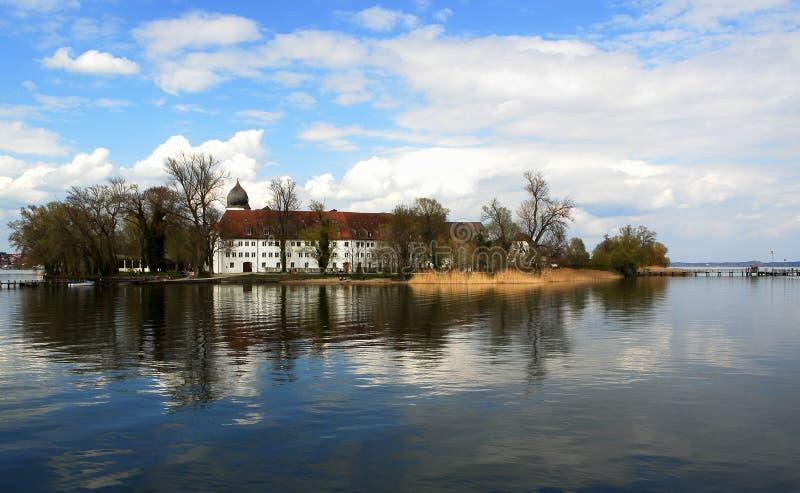 Monastério em Chiemsee foto de stock royalty free