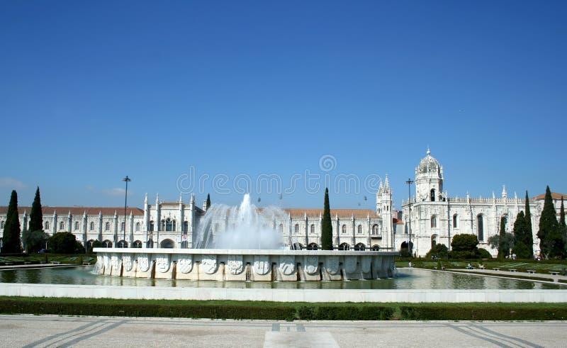 Monastério em Lisboa imagens de stock royalty free
