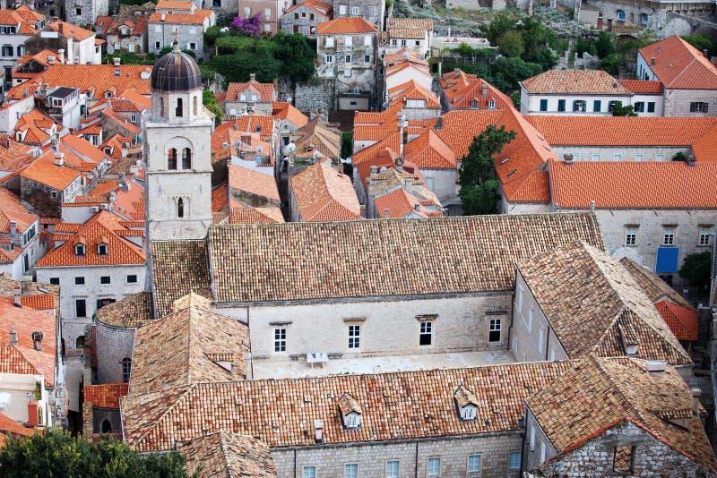 Monastério Franciscan em Dubrovnik fotografia de stock