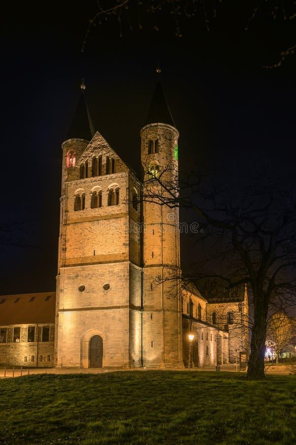 Monastério Magdeburgo imagens de stock royalty free