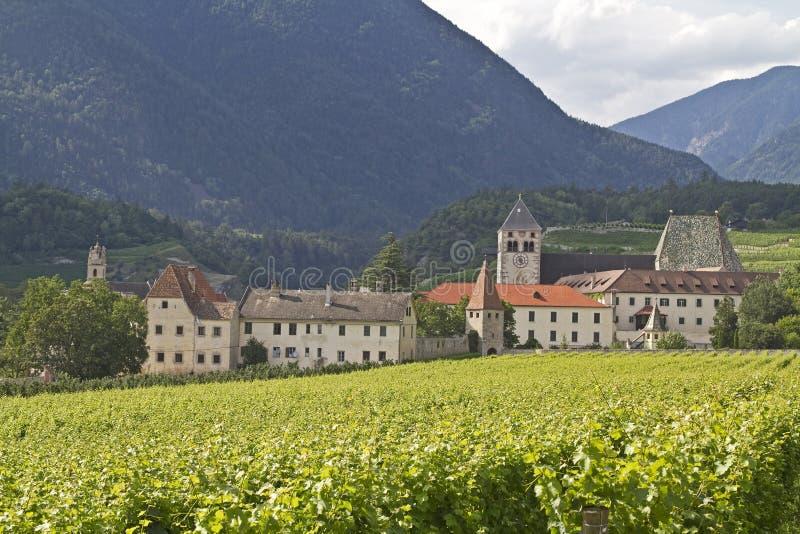 Monastério Neustift imagens de stock royalty free