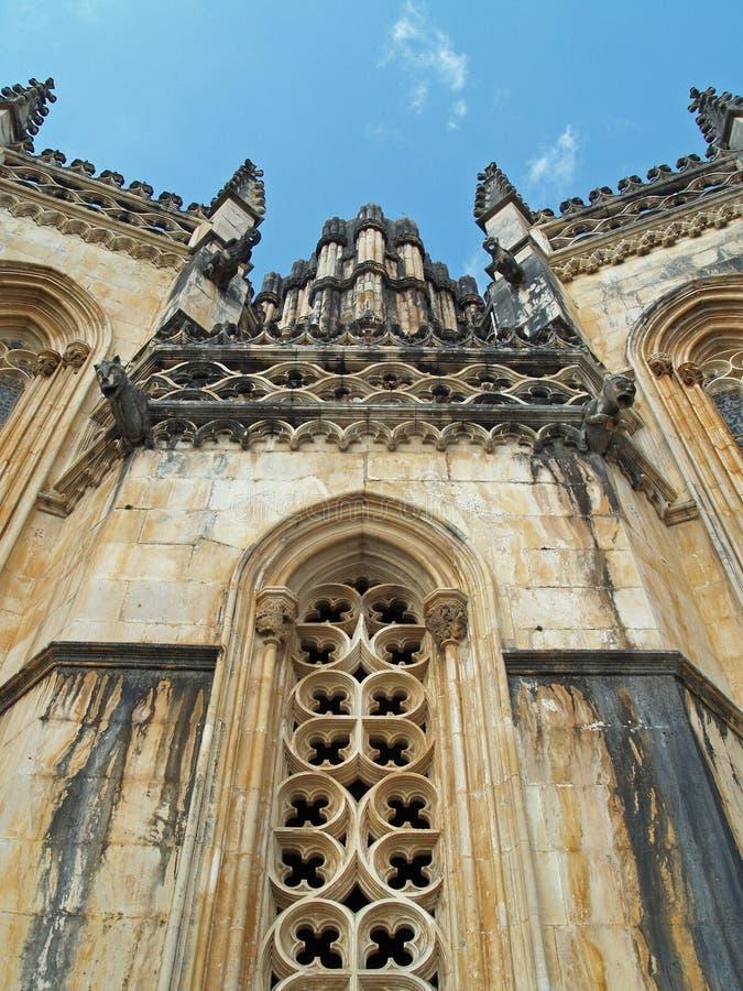 Monastério Portugal de Batalha imagem de stock
