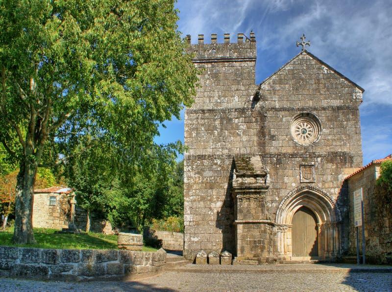 Monastério românico de Cete em Parede fotografia de stock royalty free
