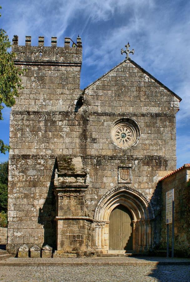 Monastério românico de Cete em Parede imagem de stock