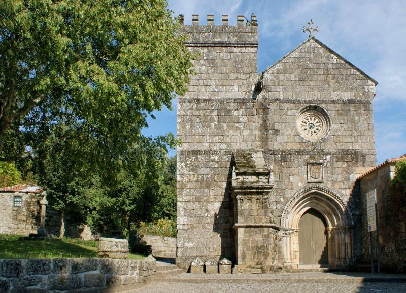 Monastério românico de Cete em Parede foto de stock royalty free