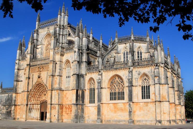Monastério Santa Maria a Dinamarca Vitoria, Batalha Portugal imagem de stock