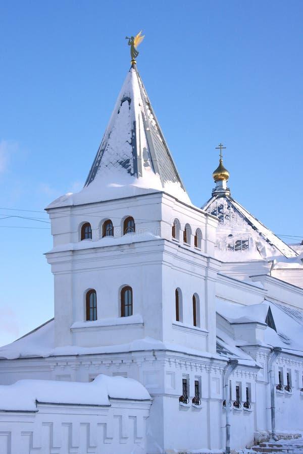 Monastério santamente da trindade na região do Perm imagem de stock royalty free