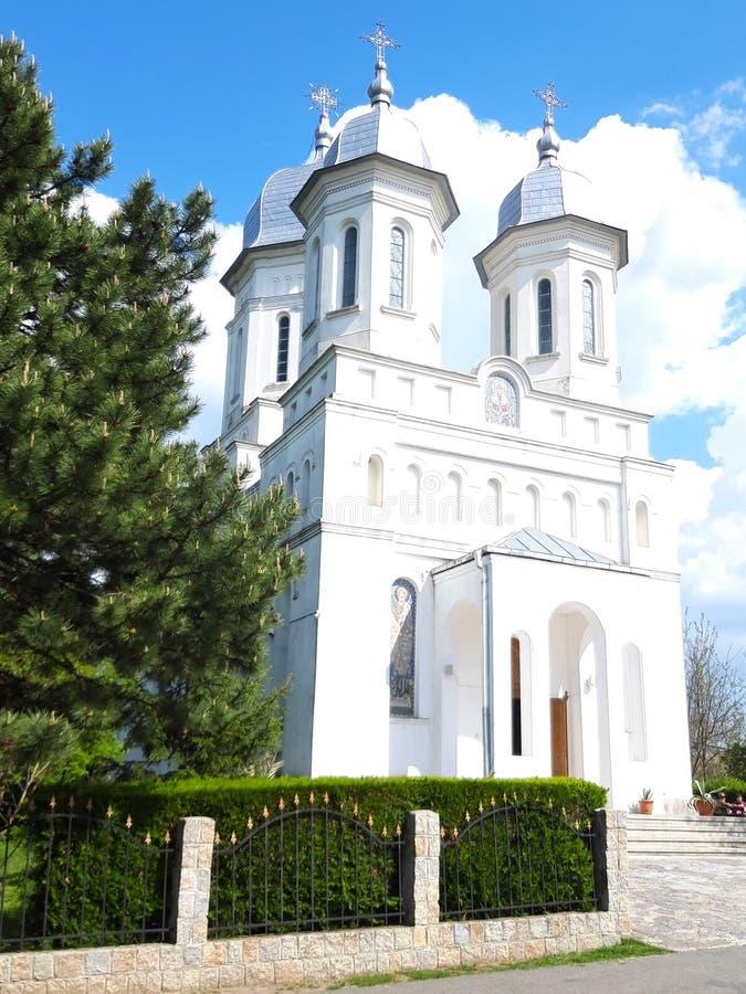 Monastério Saon Tulcea foto de stock