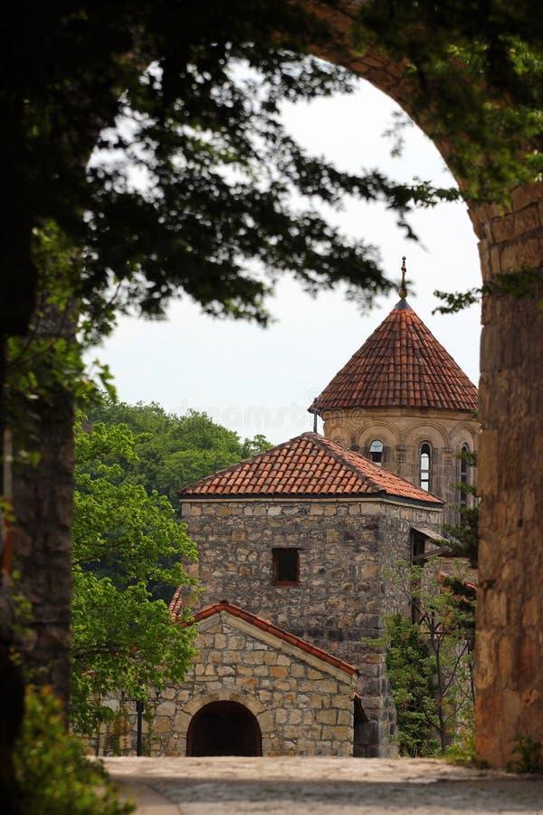Monastério velho de Motsameta perto de Kutaisi, Geórgia fotografia de stock