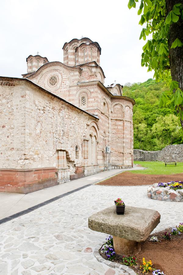 Monast?re de Ravanica, Serbie photos stock