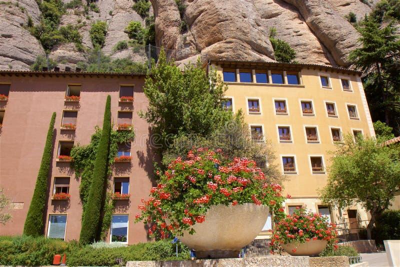 Monast?re de Santa Maria de Montserrat en Catalogne, Espagne photos libres de droits
