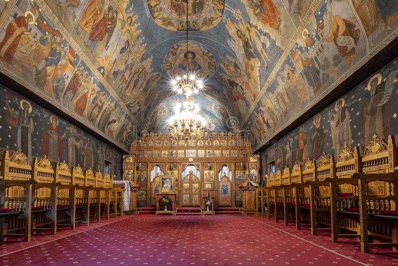 Monast?re de Vodita, Roumanie photographie stock
