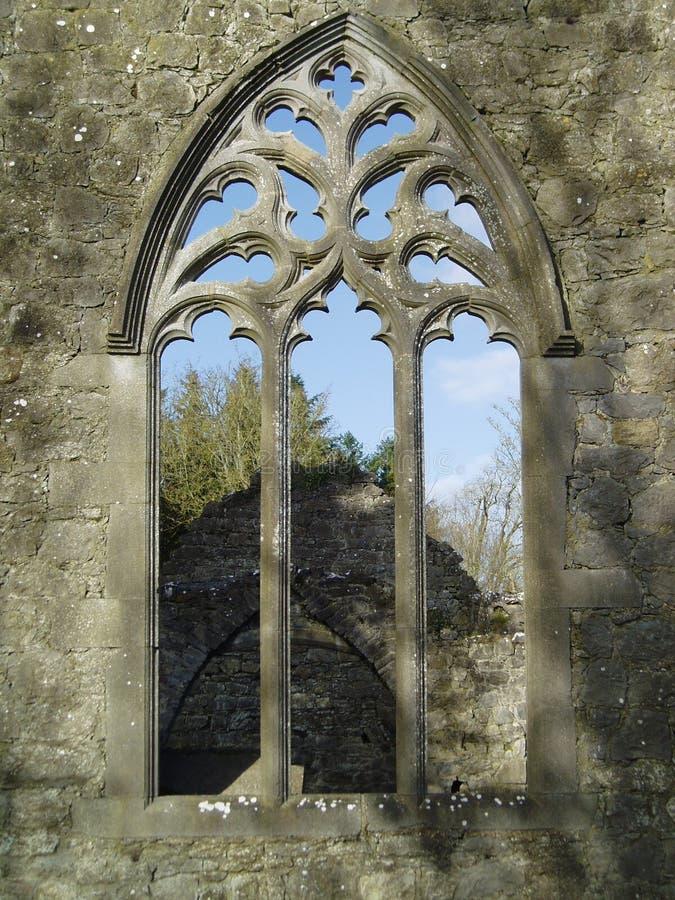 monastary okno fotografia royalty free