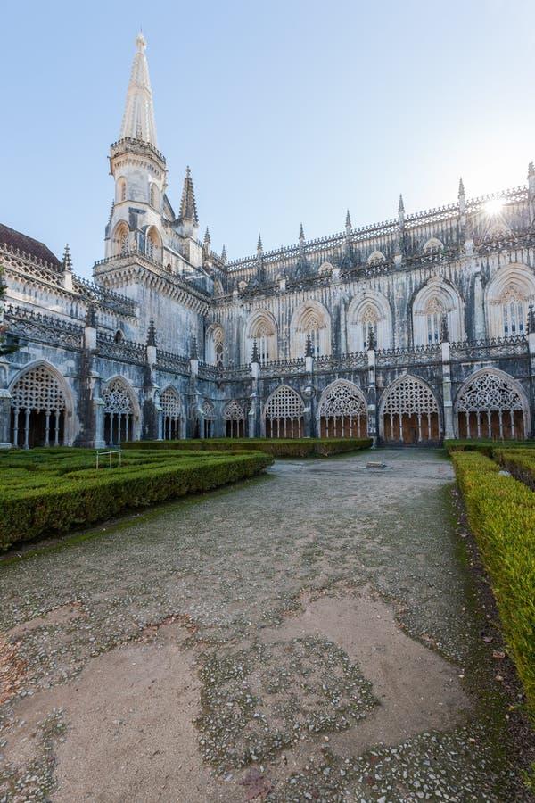 Monaster Batalha zdjęcia royalty free