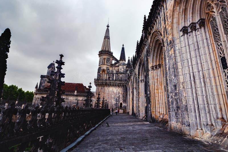 Monaster Batalha obraz royalty free