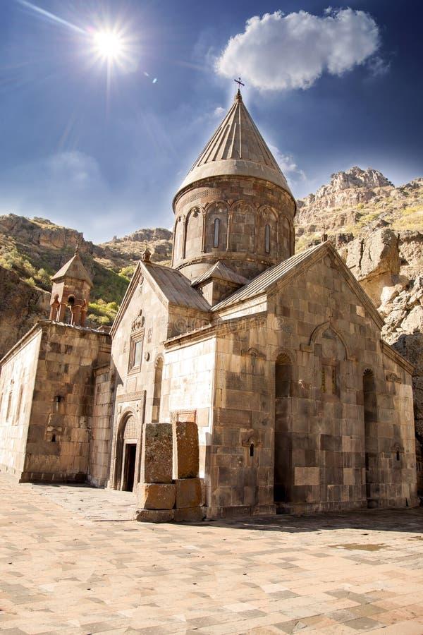 Monaster Geghard w Yerevan zdjęcie royalty free